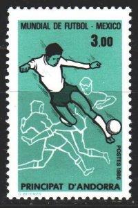 Andorra. 1986. 371. Mexico FIFA World Cup. MNH.