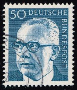 Germany #1033 Gustav Heinemann; Used (0.25)