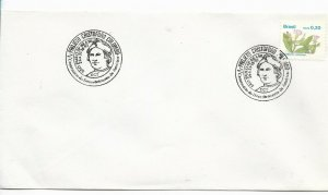 BRASIL BRAZIL COVER WITH SPECIAL POSTMARK COLOMBUS V CENT DISCOVERY OF AMERICA