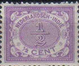 NED INDIE, 1902, MH ½c Numeral