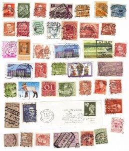 Worldwide postmarks mix #2