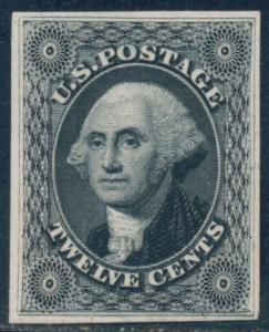 #44TC4a ATLANTA TRIAL COLOR PLATE ON CARD CV $120.00 BQ8895