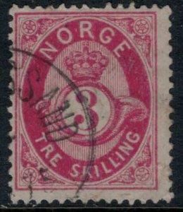 Norway #18a  CV $16.00