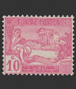 TUNISIA 1926 SCOTT # 66. UNUSED.