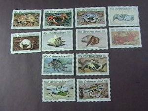 CHRISTMAS ISLAND # 162-173-MINT NEVER/HINGED-COMPLETE SET------1985