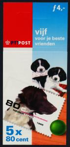 Netherlands 1012a Booklet MNH Dogs