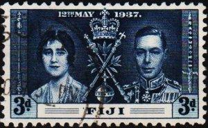 Fiji. 1937 3d S.G.248 Fine Used