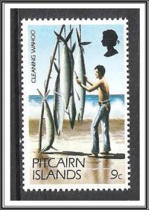 Pitcairn Islands #167 Cleaning Fish MNH