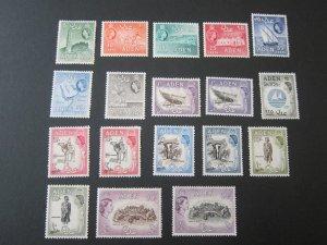 Aden 1953 sc 48-61A set MH