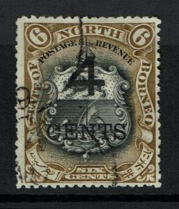 North Borneo SG# 113a - Perf 14 - Postally Used -  Lot 112316