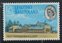 Lesotho / Basutoland  SG 96   Mint never  Hinged  New Constitution