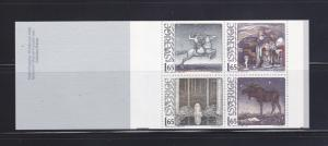 Sweden 1395a Complete Booklet Set MNH Fairytales (A)
