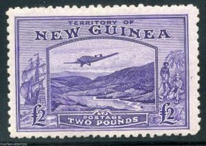 NEW GUINEA  SCOTT#C44   SG#204  MINT NEVER HINGED PRISTINE FULL ORIGINAL GUM