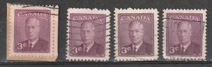 #286 Canada Used George VI