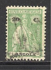 Angola 140 used SCV $ 1.60 (DT)
