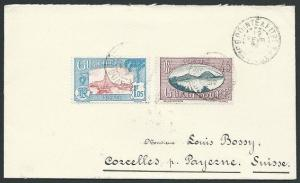 GUADELOUPE 1929 cover Pointe a Pitre to Switzerland........................46775
