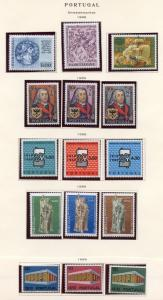 PORTUGAL LOT OF 1969  NEVER HINGED  STAMPS