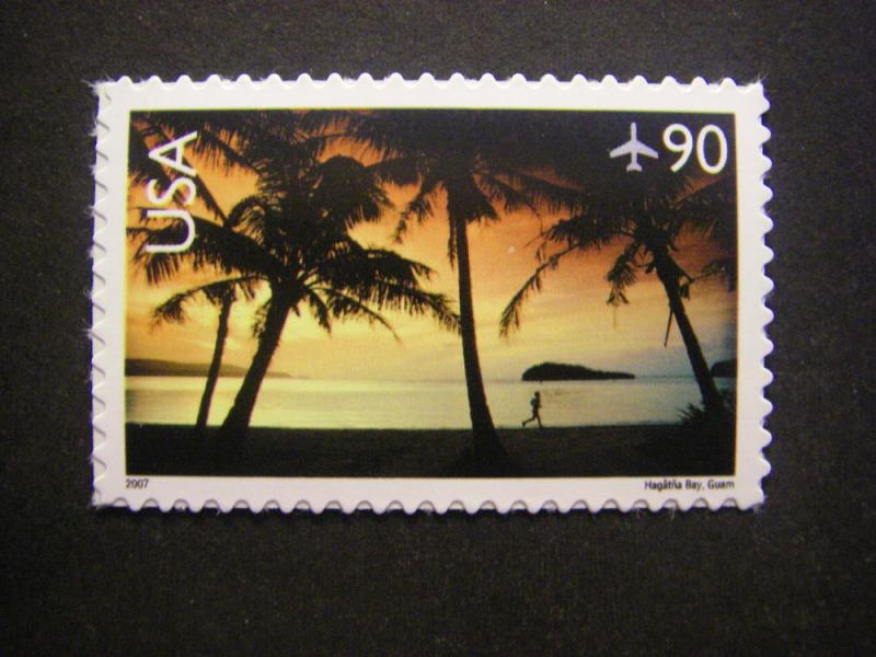 Scott C143, 90c Hagatna Bay, Guam, MNH single, Airmail Scenic Landscapes