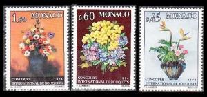 1973 Monaco 1104-06 Flowers 6,00 €