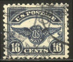 U.S. #C5 SUPERB Used w/Cert - 1923 16c Wings