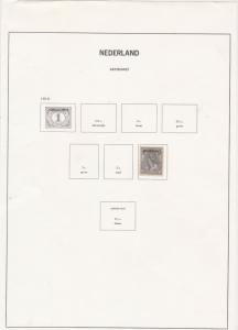 Netherlands Stamps Page ref R 16799