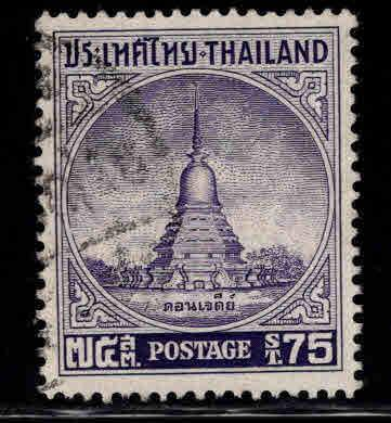 Thailand Scott 318 Used 1956 Don Jedi monument stamp