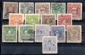 Indian States Cochin unchecked used collection WS12261