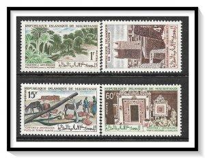 Mauritania #191-194 Tourist Publicity Set MNH