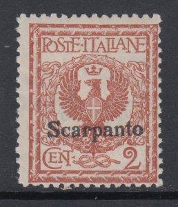 Italy Scarpanto 1 MNH BIN