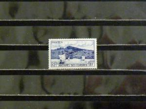 1869   Comoro Islands   Mint Hinged, VF   # 30   Anjouan Bay