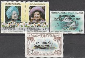 St Vincent Grenadines #504,506,509 MNH F-VF CV $8.45 (D1844)