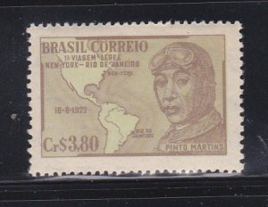 Brazil 711 Set MNH Euclides Pinto Martins, Aviator