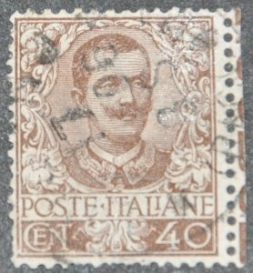 DYNAMITE Stamps: Italy Scott #83 – USED