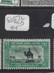 SUDAN  (P1901B)   CAMEL A/M  7 1/2 P  SG57C   MOG