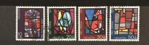 Switzerland 1971 #B398-401, Used, CV $1.20