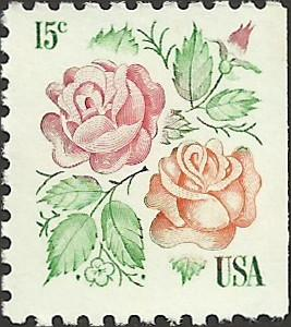 # 1737 MINT NEVER HINGED ROSES