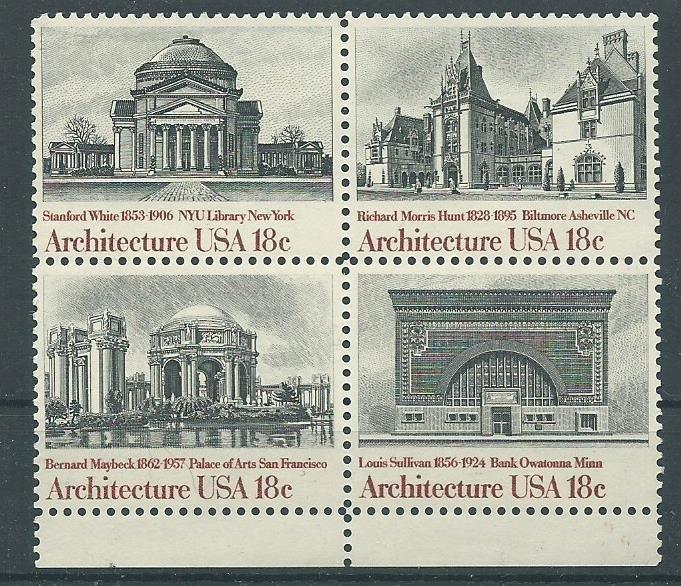 1981 United States Scott Catalog Number 1931a Unused Never Hinged