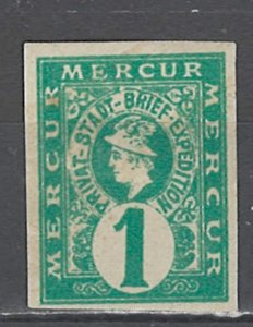COLLECTION LOT # 2555 GERMANY  HANNOVER LOCAL POST MH STAMP 1886
