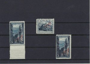 Luxembourg 1922-3 Official MM+ Used Stamps Ref: R4412