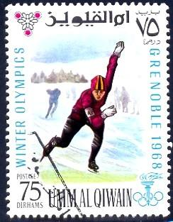 Speed Skating, 1968 Winter Oly...