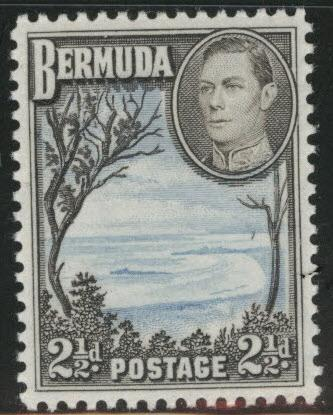 BERMUDA Scott 120Ab MNH** from 1943 set