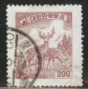 Korea Scott 279 used 1959 wmk 317 stamp