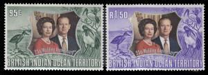British Indian Ocean Territory 48 - 49 MNH