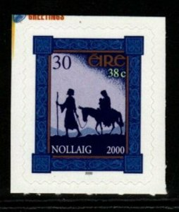 IRELAND SG1376 2000 CHRISTMAS SELF ADHESIVE MNH