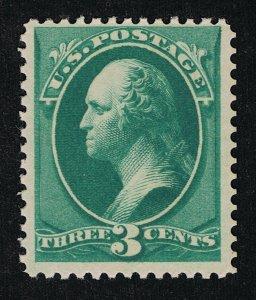 OUTSTANDING GENUINE SCOTT #147 F-VF MINT OG NH 1879 GREEN  ABNC PRINTING