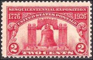 627 Mint,OG,NH... SCV $4.00