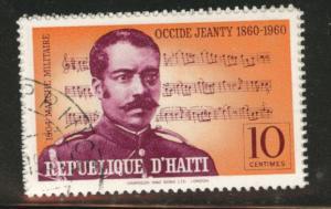 HAITI Scott 466 used 1960 cto