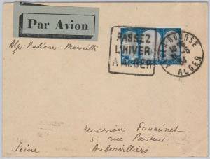 56762 - AVIATION - Muller # 42  First Flight Cover ALGERIA - Palma de Mallorca