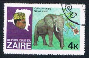 Zaire 904 Used Elephant 1979 (BP31117)