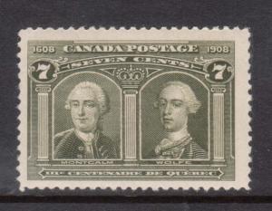 Canada #100 NH Mint
